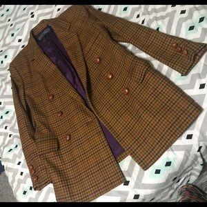Vintage houndstooth blazer